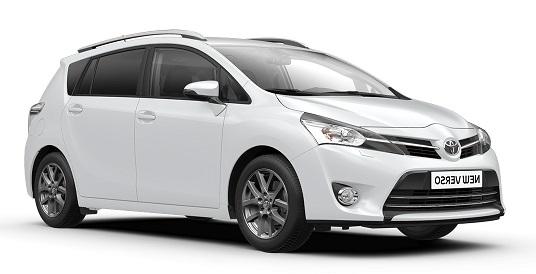 Auto raamfolie voor de Toyota Verso.