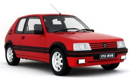 Auto raamfolie voor de Peugeot 205 3-deurs