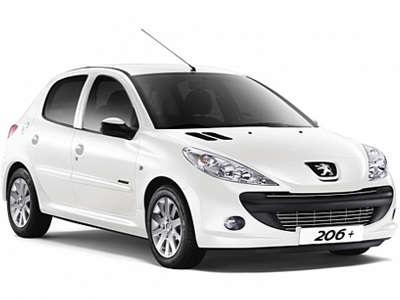 Auto raamfolie voor de Peugeot 206 5-deurs