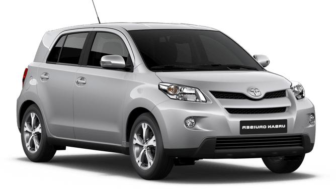 Auto raamfolie voor de Toyota Urban Cruiser