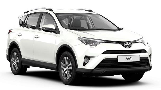 Auto raamfolie voor de Toyota RAV4