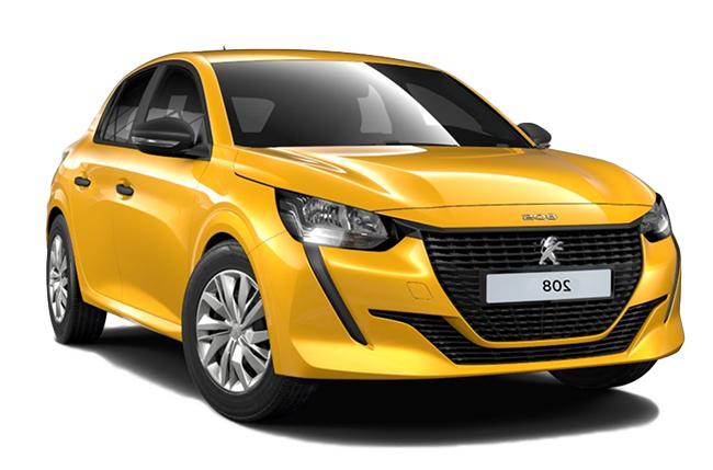 Auto raamfolie voor de Peugeot 208 5-deurs