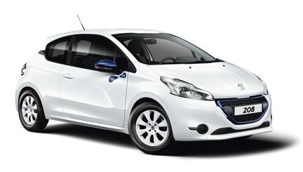 Auto raamfolie voor de Peugeot 208 3-deurs