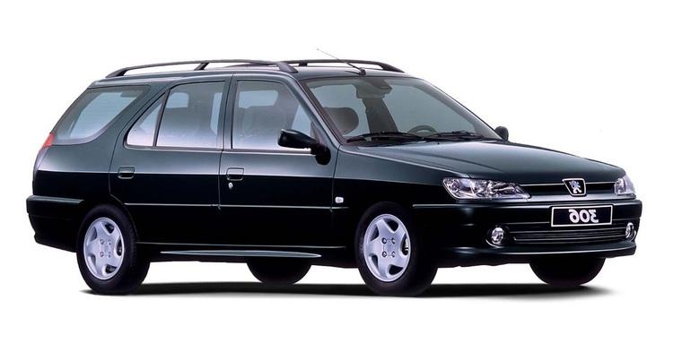 Auto raamfolie voor de Peugeot 306 SW