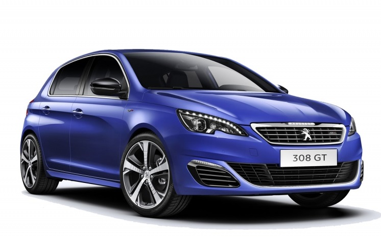 Auto raamfolie voor de Peugeot 308 5-deurs
