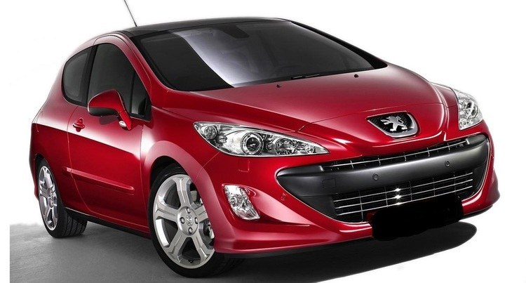 Auto raamfolie voor de Peugeot 308 3-deurs