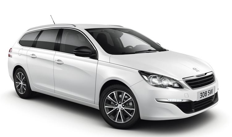 Auto raamfolie voor de Peugeot 308 SW