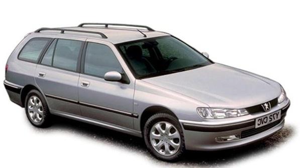 Auto raamfolie voor de Peugeot 406 combi
