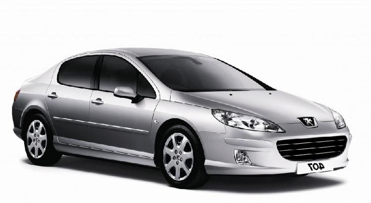Auto raamfolie voor de Peugeot 407 Sedan