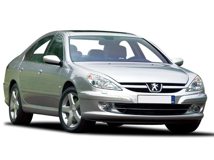 Auto raamfolie voor de Peugeot 607