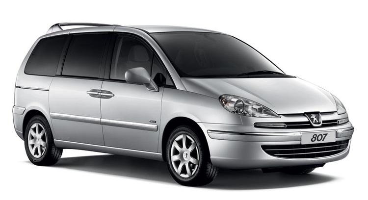 Auto raamfolie voor de Peugeot 807