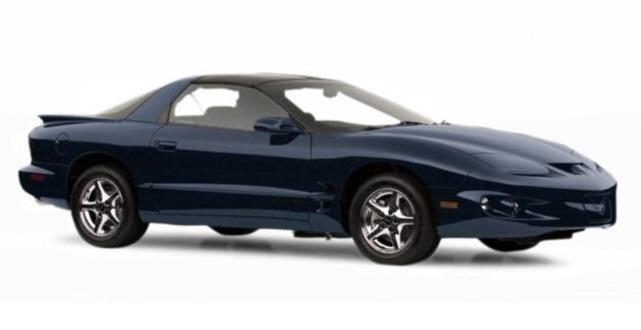 Auto raamfolie voor de Pontiac Firebird