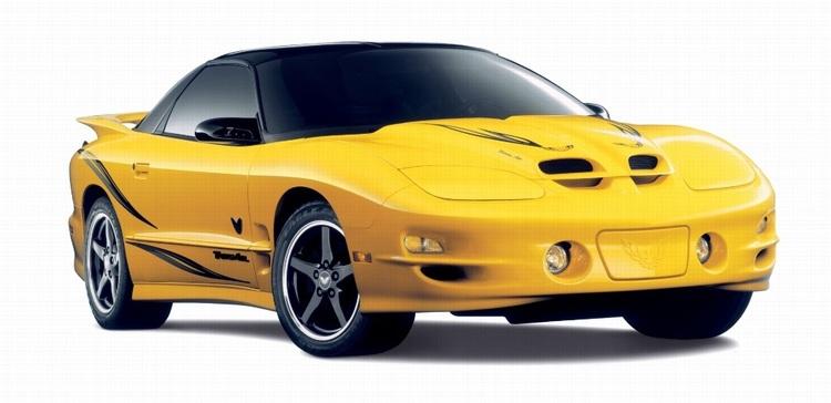 Auto raamfolie voor de Pontiac Trans Am