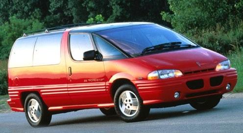 Auto raamfolie voor de Pontiac Trans Sport