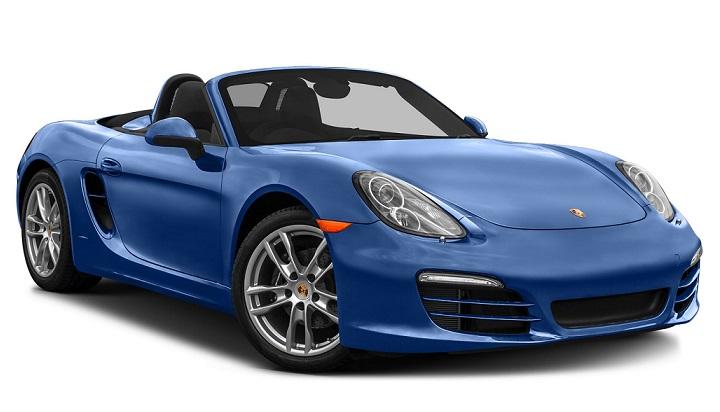 Auto raamfolie voor de Porsche Boxster