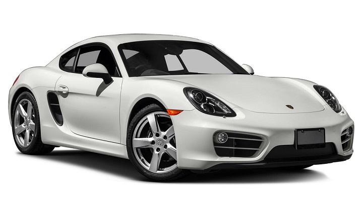 Auto raamfolie voor de Porsche Cayman