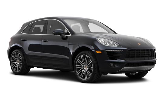 Auto raamfolie voor de Porsche Macan