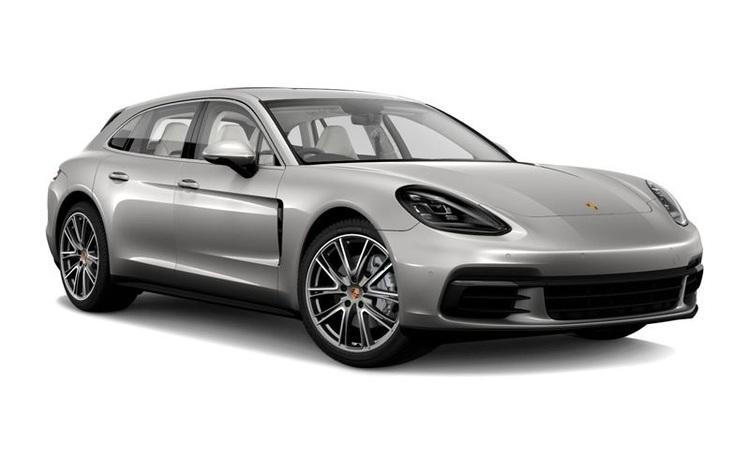 Auto raamfolie voor de Porsche Panamera Turismo
