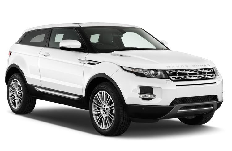 Auto raamfolie voor de Range Rover Evoque coupé