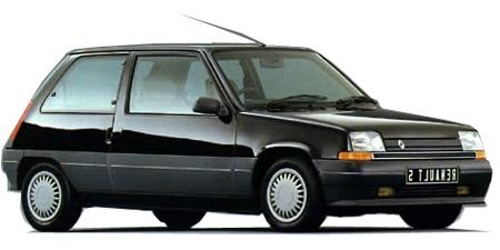 Auto raamfolie voor de Renault 5 5-deurs