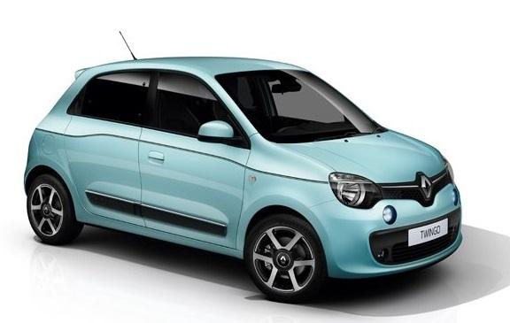 Auto raamfolie voor de Renault Twingo