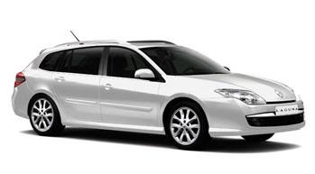 Auto raamfolie voor de Renault Laguna