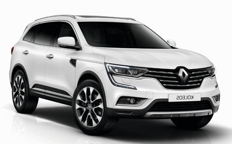 Auto raamfolie voor de Renault Koleos
