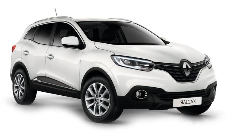 Auto raamfolie voor de Renault Kadjar