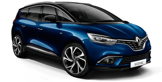 Auto raamfolie voor de Renault Grand Scenic