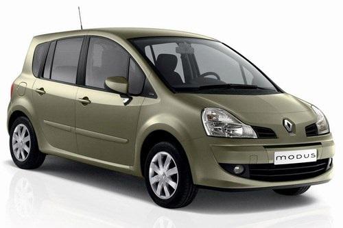 Auto raamfolie voor de Renault Grand Modus