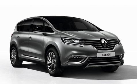 Auto raamfolie voor de Renault Espace