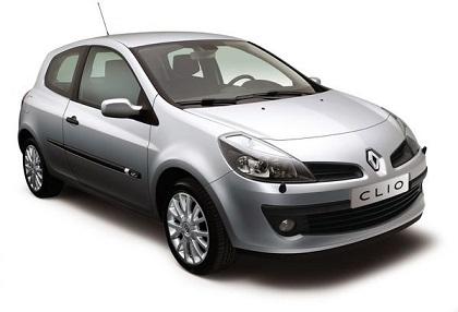 Auto raamfolie voor de Renault Clio 3-deurs
