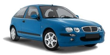 Auto raamfolie voor de Rover 25 3-deurs