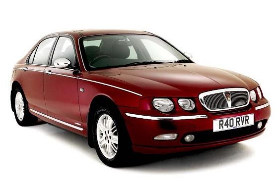 Auto raamfolie voor de Rover 75 sedan