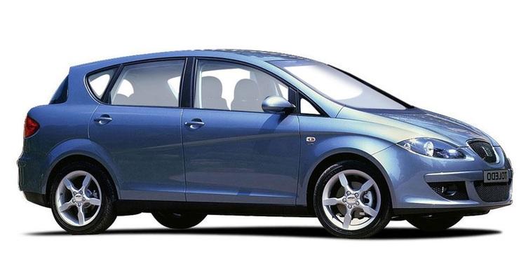 Auto raamfolie voor de Seat Toledo