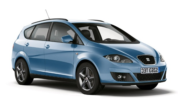 Auto raamfolie voor de Seat Altea XL
