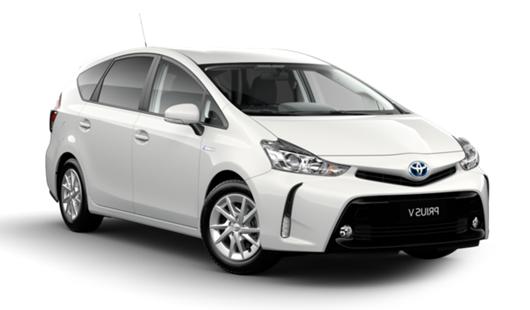 Auto raamfolie voor de Toyota Prius +.