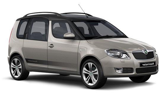 Auto raamfolie voor de Skoda Roomster