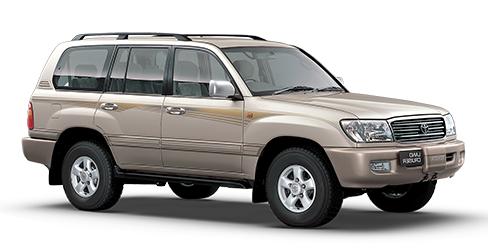 Auto raamfolie voor de Toyota Land Cruiser 100.