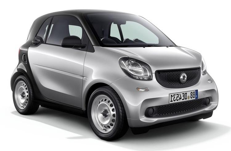 Auto raamfolie voor de Smart Fortwo