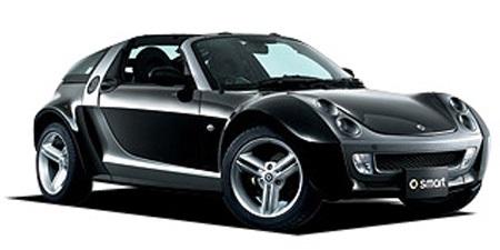 Auto raamfolie voor de Smart Roadster coupé