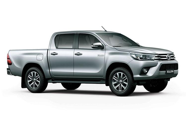 Auto raamfolie voor de Toyota Hilux Crew cab.