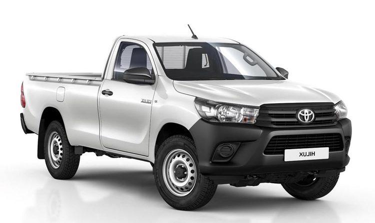 Auto raamfolie voor de Toyota Hilux Pick Up.
