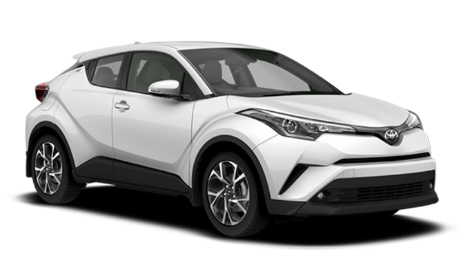 Auto raamfolie voor de Toyota C-HR.