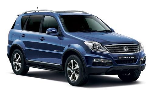 Auto raamfolie voor de Ssangyong Rexton