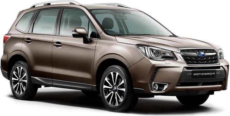 Auto raamfolie voor de Subaru Forester
