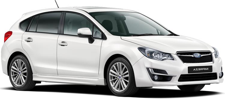 Auto raamfolie voor de Subaru Impreza 5-deurs