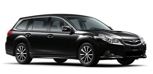 Auto raamfolie voor de Subaru Legacy combi