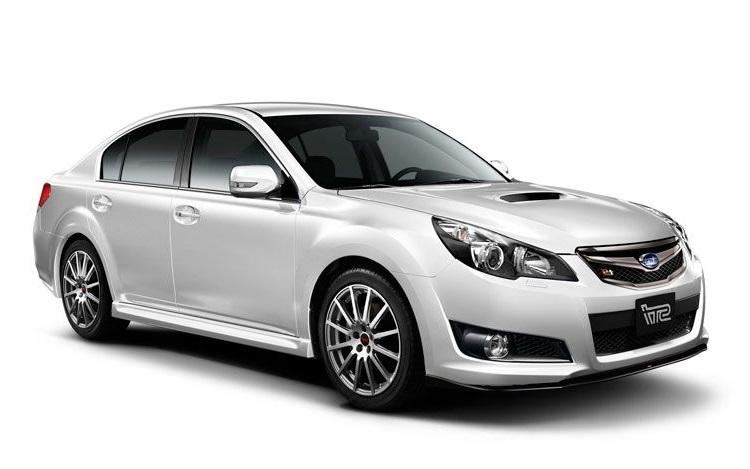 Auto raamfolie voor de Subaru Legacy sedan