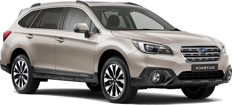 Auto raamfolie voor de Subaru Outback